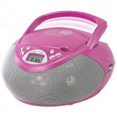 Play On CD Boombox - roosa