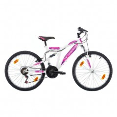 Jalgratas Actimover 24'' roosa / sinine